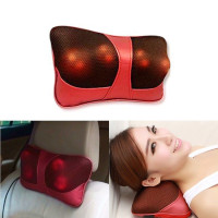 Bantal Pijat Shiatsu Car Heat Neck Massage Pillow - 8028