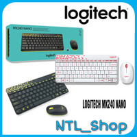 LOGITECH MK240 WIRELESS COMBO KEYB + MOUSE