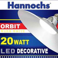 Lampu KAP LED/ Lampu KAP Industri 20Watt 8 Inchi Kuning HANNOCHS ORBIT