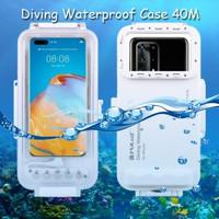Puluz Diving Waterproof Case 45 Meter Underwater Huawei P40 Pro Plus +