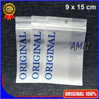 Plastik Klip ORIGINAL Aksesoris Ziplock Zipper 9x15 cm