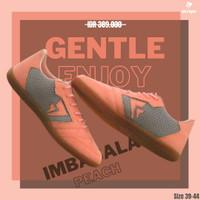 sepatu futsal bola mini soccer original sevspo pink lokal murah promo