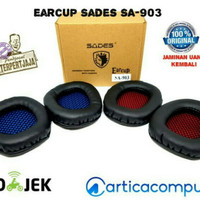 Earcup Headset Gaming Sades SA-903 (Busa Headphone Murah Original)