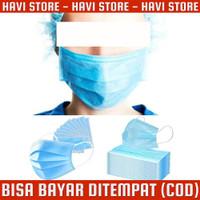 Masker Bedah Filter Udara Anti Polusi Virus Corona 3 Ply