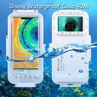 Puluz Diving Waterproof Case 45 Meter Underwater Huawei Mate 30 Pro