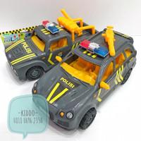 mainan mobil jeep polisi - mobil patroli - KN