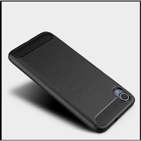 Case Ipaky Carbon Fiber VIVO Y97 Softcase Shockproof TPU