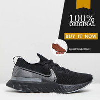 CD4371-001 Sepatu Running Nike React Infinity Run Flyknit - Black