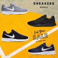 Nike Tanjun Black White 100% Original Termurah