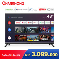 Changhong Google certified Android Smart TV 43 inch 43H4 LED TV-L43H4