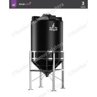 Tangki Air / Tandon / Toren Silo Tank Penguin 3000 Liter - TV 300