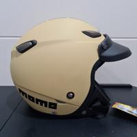 Helm JPN kawai momo cappucino doff pet