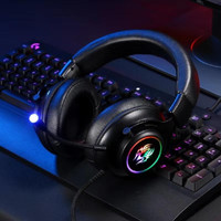 HEADPHONE BANDO GAMING YORO V5 SERIES RGB
