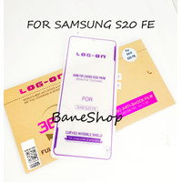 ANTISHOCK LOG ON JELLY SAMSUNG S20 FE SCREEN PROTECTOR