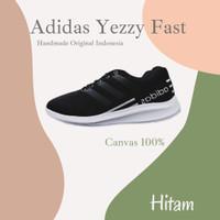 Sepatu Olahraga Pria Adidas YEZZY FAST Sepatu Sneakers Pria Running - 39, Hitam