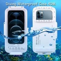 Puluz Diving Waterproof Case 45 Meter Underwater IPX8 iPhone 12 Pro