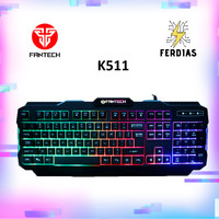 Keyboard Gaming Fantech K511 104 keys Paling Ekonomis - FERDIAS