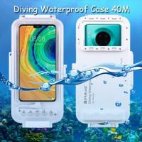 Puluz Diving Waterproof Case 45 Meter Underwater Huawei Mate 30