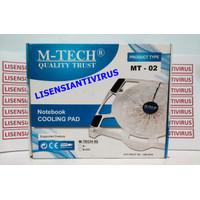 Cooling Pad kipas Pendingin Notebook Laptop M-tech MT-02 mtech MT02