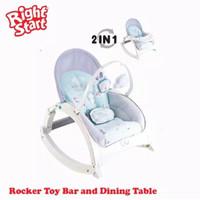 Ayunan Bayi Bouncer Right Start 2 in 1 Newborn Portable Rocker
