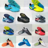 Sepatu Bola Mizuno Terbaru Kualitas Impor Sol Bening (Best Seller) - Orange, 39