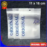 Plastik Klip ORIGINAL Aksesoris Ziplock Zipper 11x16 cm