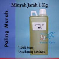 Castor Oil (Minyak Jarak) Murni |100%Pure Special Grade 1 Kg