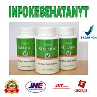 MELABIC - Obat Herbal Diabetes - Mengatasi Kadar Gula Darah - 30 Butir
