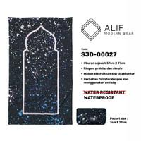 Sajadah Saku Anti Air | Sajadah Travel Lipat Alif Modern Wear SJD-0027