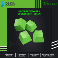 Keycap Keyboard Gaming RAZER PBT Upgrade Set for Mechanical & Optical - Hijau