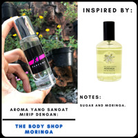 Xi Parfume The Body Shop Moringa | Parfum Refill | Body Shop Refill