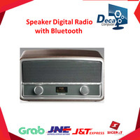 Speaker Digital Radio with Bluetooth - Goodmans Heritage Wood