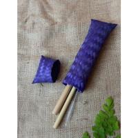 Dompet Bambu Warna Lancip