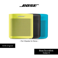 Bose Soundlink Color II 2 Bluetooth Speaker Original - Biru Muda