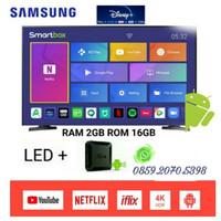 SAMSUNG LED DIGITAL TV Smart Android Box Ram 2GB [32 Inch] 32N4001