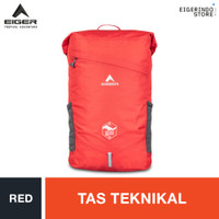 Eiger Borneo Active 30 1A Technical Backpack - Red