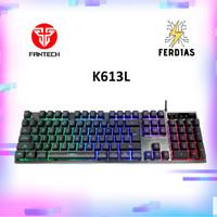 Keyboard Gaming RGB Fantech K613L Ada Numpad Body Metal - FERDIAS