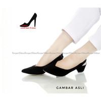 AJENG - Dalleya sepatu hak tinggi wanita pantofel kerja polos murah