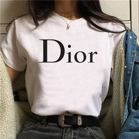 Kaos Baju Combed Distro DIOR polos custom indonesia