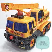 Mainan mobil truk crane - US