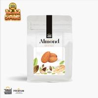 Kacang Almond Kupas Roasted Premium Timur Tengah Almond Whole Panggang