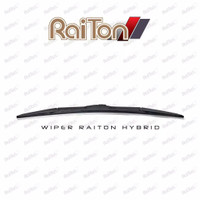 "Raiton Sepasang Wiper Hybrid Kaca Depan Mobil Grand Max 18"" & 18"""