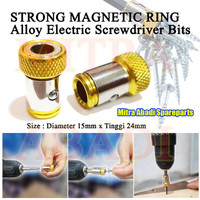 Strong Magnetic Ring Alloy Electric Screwdriver Bits