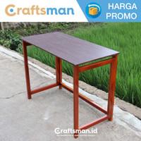 Meja lipat kayu pinus belajar / laptop portable minimalis | ML05