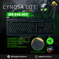 Razer Cynosa Lite Chroma Gaming Keyboard