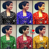 KATUN JUMPUTAN ANGKIN bahan kain batik baju dress palembang jawa