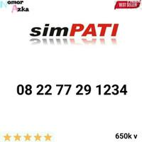 Kartu Perdana limited edition Nomor Cantik SIMPATI Seri urut 8813 1234