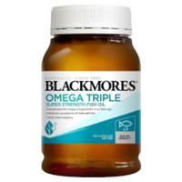 BLACKMORES OMEGA TRIPLE CONCENTRATED ODOURLESS FISH OIL 150 kapsul