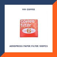 Filter Aeropress Kertas Filter Kopi 100pcs