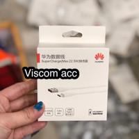 kabel data huawei tipe c 5A p20 lite p20 pro ORI100% fast charging